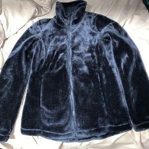 Cozy fuzzy jacket